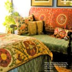 A Boho Classic Revisited: 'Novel Interiors' - bedroom 1