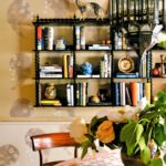 A Boho Classic Revisited: 'Novel Interiors' - wall shelf