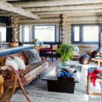 Boho cozy Colorado Cabin by Thom Filicia - kitchen 2
