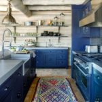 Boho cozy Colorado Cabin by Thom Filicia - kitchen 1