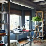 Boho cozy Colorado Cabin by Thom Filicia - study