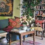 A Boho Classic Revisited: 'Novel Interiors' - living room 1