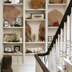 A Boho Classic Revisited: 'Novel Interiors' - stairway built-in shelves