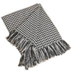 Saro Houndstooth Throw