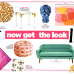 Bold Waves of Pink Make Texas Home Pop - get the look