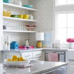 Bold Waves of Pink Make Texas Home Pop - kitchen