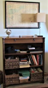 For My Valentine: 'Mad Men' Boho Chic - 2 - bookcase before