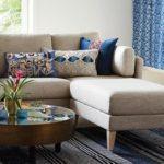 Mood Indigo + World Market = Boho Classic - living room