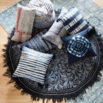 Mood Indigo + World Market = Boho Classic - pillows