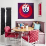 Color Me No-Rules Boho - breakfast nook banquette