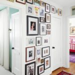 Color Me No-Rules Boho - hallway gallery wall