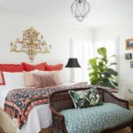 Color Me No-Rules Boho - master bedroom
