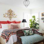 Color Me No-Rules Boho - master bedroom