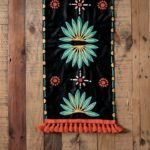 Crewelwork Table Runner, $99