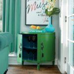 GOT MAIL / Iris Apfel & Grandin Road - demilune cabinet