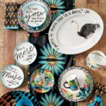 GOT MAIL / Iris Apfel & Grandin Road - plates and platters
