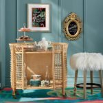 GOT MAIL / Iris Apfel & Grandin Road - rolling cart