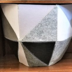 Land of Nod Grey Quartz Bin