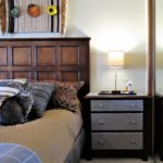 Ho-Hum Nightstand Gets Wake-Up Call - Nightstand and bed