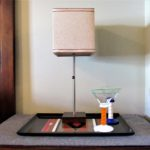 Ho-Hum Nightstand Gets Wake-Up Call - lamp closeup
