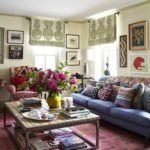 Historical Collectors' Boho, Philly-Style - living room