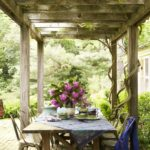 Historical Collectors' Boho, Philly-Style - patio pergola
