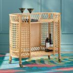 Rattan Mobile Cart, $499