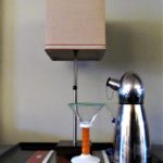 Ho-Hum Nightstand Gets Wake-Up Call - cocktail shaker